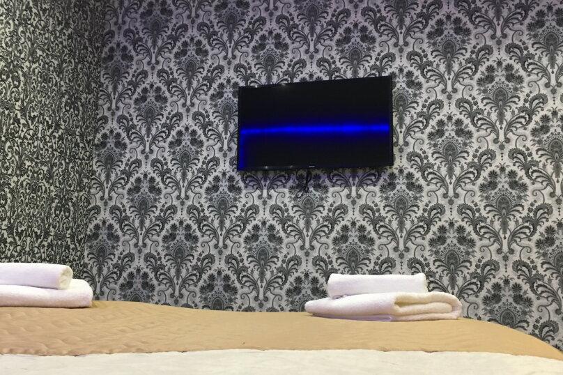 Номер полулюкс DARK #9 с оригинальным дизайном, двуспальной кроватью, диваном и собственной ванной комнатой, Красногорский бульвар, 24, Красногорск - Фотография 5
