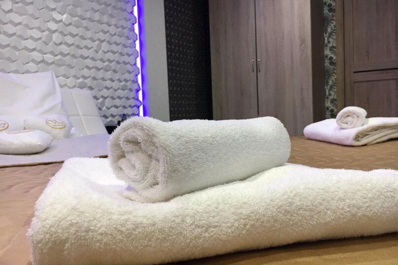 Номер полулюкс DARK #9 с оригинальным дизайном, двуспальной кроватью, диваном и собственной ванной комнатой, Красногорский бульвар, 24, Красногорск - Фотография 11
