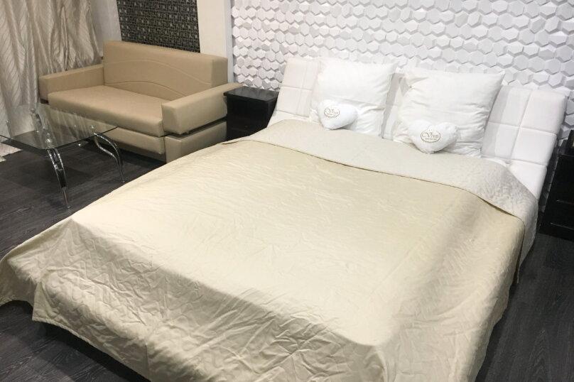 Номер полулюкс DARK #9 с оригинальным дизайном, двуспальной кроватью, диваном и собственной ванной комнатой, Красногорский бульвар, 24, Красногорск - Фотография 12