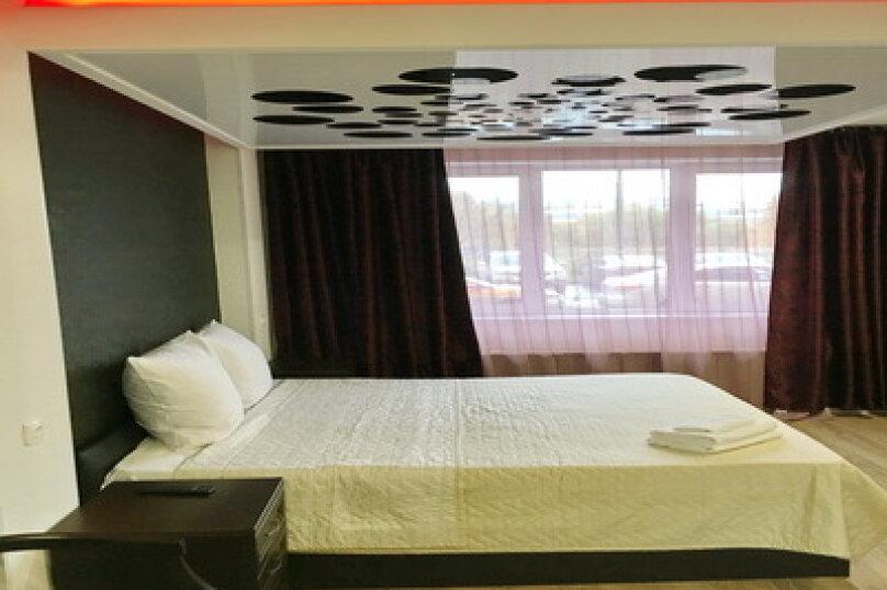 Номер полулюкс CROCUS #6 с двуспальной кроватью, джаккузи в собственной ванной комнатой, Красногорский бульвар, 24, Красногорск - Фотография 1