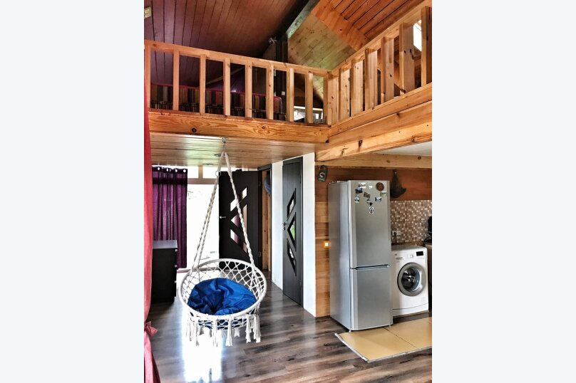Дом - апартаменты с мезонином , 65 кв.м. на 4 человека, 1 спальня, Озёрная улица, 8, Аскат - Фотография 12
