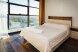 Двухкомнатные Апартаменты с балконом:  Квартира, 4-местный (3 основных + 1 доп), 2-комнатный - Фотография 18