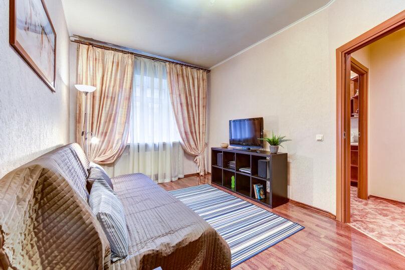 1-комн. квартира, 45 кв.м. на 4 человека, Мытнинская улица, 2, Санкт-Петербург - Фотография 8