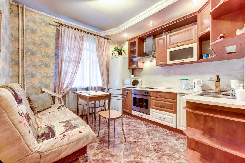 1-комн. квартира, 45 кв.м. на 4 человека, Мытнинская улица, 2, Санкт-Петербург - Фотография 12