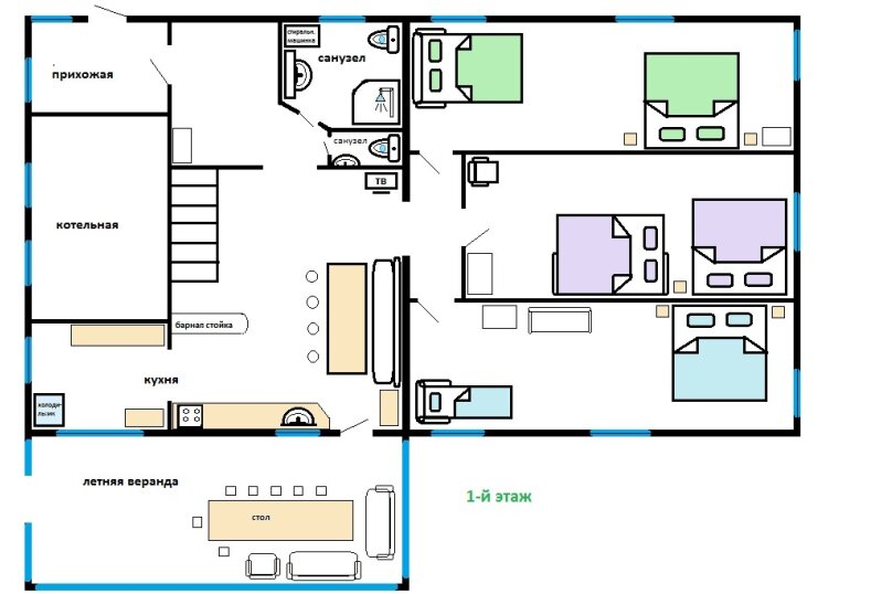 Гостевой дом в Благодати, 200 кв.м. на 19 человек, 6 спален, д. Андреевское, Озерная улица, 2, Переславль-Залесский - Фотография 54