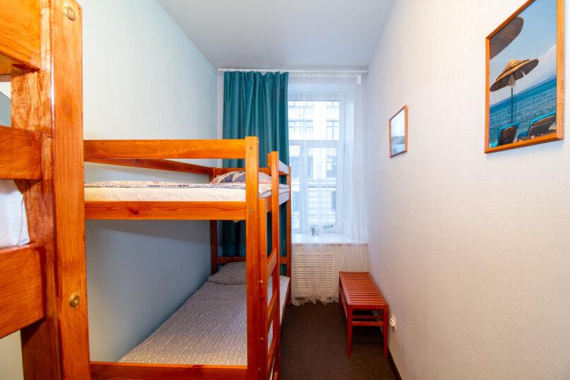 №2 — Спальное место в общем четырехместном номере (хостеле), Суворовский проспект, 13, Санкт-Петербург - Фотография 1