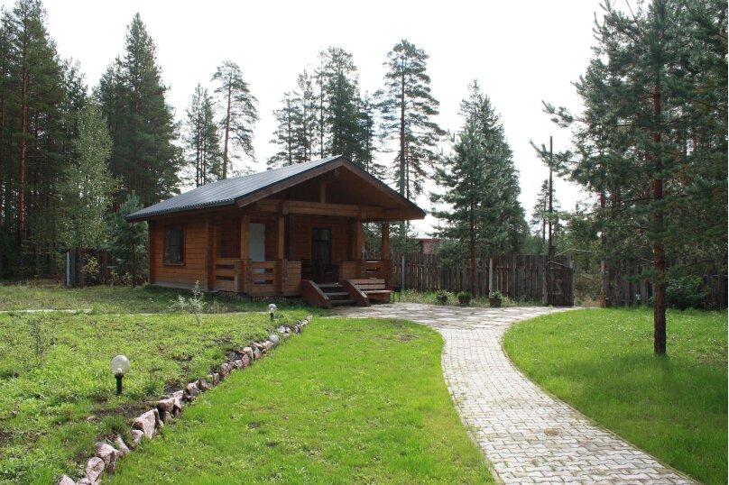 Дома на озере. Дом №1, 40 кв.м. на 4 человека, 1 спальня, Сяндеба, 38, Олонец - Фотография 1