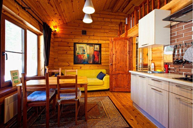 Дома на озере. Дом №1, 40 кв.м. на 4 человека, 1 спальня, Сяндеба, 38, Олонец - Фотография 4