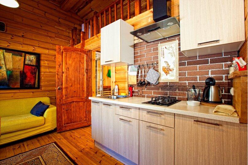 Дома на озере. Дом №1, 40 кв.м. на 4 человека, 1 спальня, Сяндеба, 38, Олонец - Фотография 5