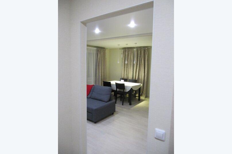 2-комн. квартира, 52 кв.м. на 4 человека, улица Софьи Ковалевской, 16Б, Петрозаводск - Фотография 5