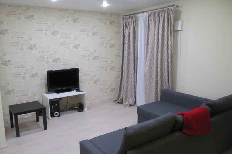 2-комн. квартира, 52 кв.м. на 4 человека, улица Софьи Ковалевской, 16Б, Петрозаводск - Фотография 6