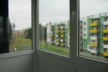 2-комн. квартира, 52 кв.м. на 4 человека, улица Софьи Ковалевской, Петрозаводск - Фотография 1