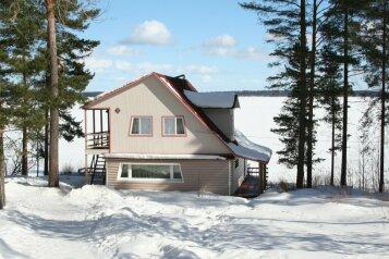Дом, 80 кв.м. на 6 человек, 2 спальни, поселок Чална, 5, Петрозаводск - Фотография 1