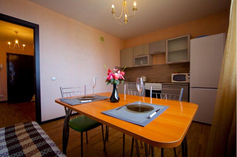 2-комн. квартира, 75 кв.м. на 8 человек, улица Авиаторов, 38, Красноярск - Фотография 3