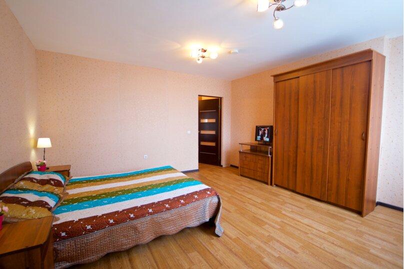 2-комн. квартира, 75 кв.м. на 8 человек, улица Авиаторов, 38, Красноярск - Фотография 6
