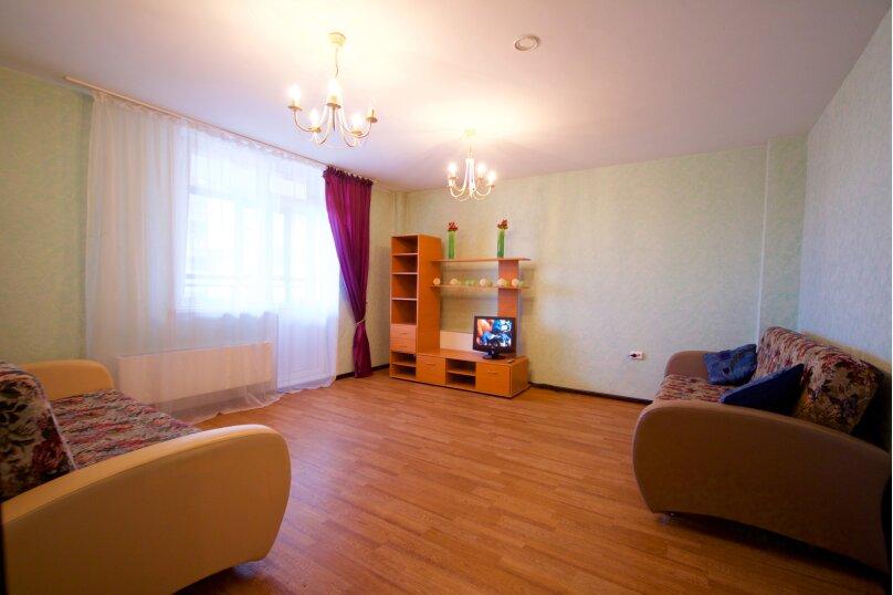 2-комн. квартира, 75 кв.м. на 8 человек, улица Авиаторов, 38, Красноярск - Фотография 8