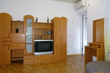 """Апартаменты-люкс с кухней  в 3 минутах от пляжа """"Солярис"""", Хлебная улица на 2 номера - Фотография 4"""