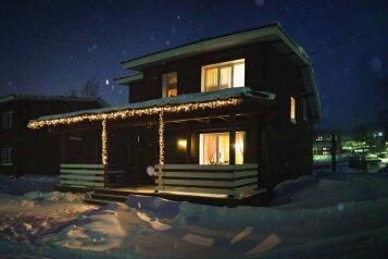 Деревянный двухэтажный дом, 130 кв.м. на 10 человек, 4 спальни, 19-го Партсъезда, Шерегеш - Фотография 1