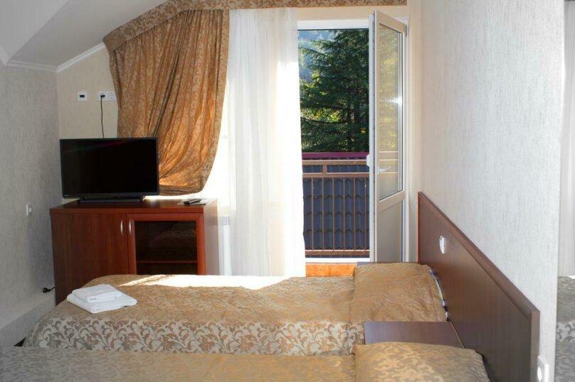 Стандартный двухместный номер с 1 кроватью или 2 отдельными кроватями, Заповедная улица, 3, Красная Поляна - Фотография 1