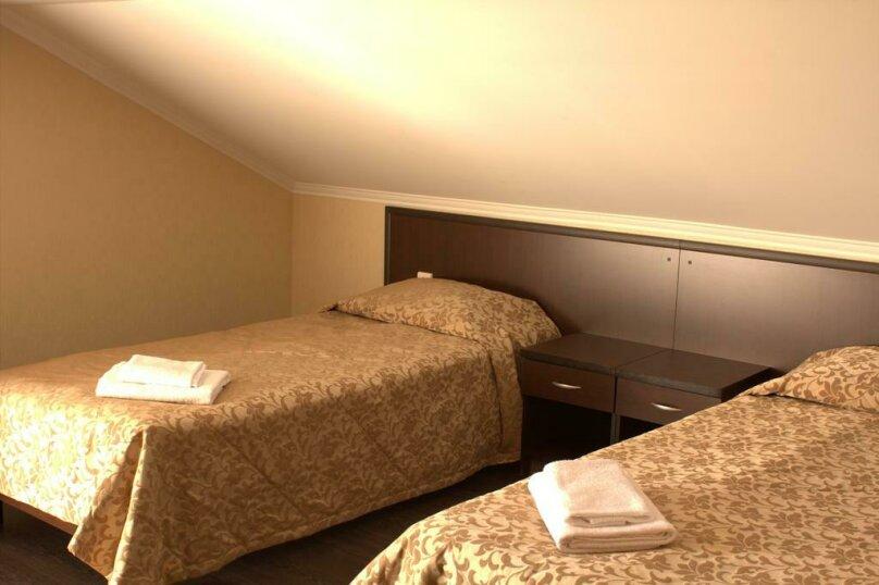 Трехместный номер с гостиным уголком, Заповедная улица, 3, Красная Поляна - Фотография 1