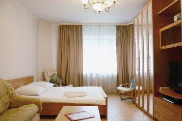 1-комн. квартира, 45 кв.м. на 3 человека, 1-я Тверская-Ямская, метро Белорусская, Москва - Фотография 1