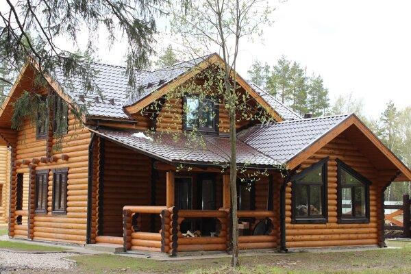 Дом с баней , 140 кв.м. на 8 человек, 2 спальни, дер. Протасово, Весенняя, 4, Щелково - Фотография 1