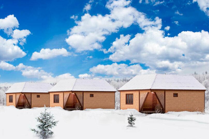 Дом на берегу озера в Карелии, 65 кв.м. на 4 человека, 2 спальни, деревня Кукшегоры, 1, Олонец - Фотография 12
