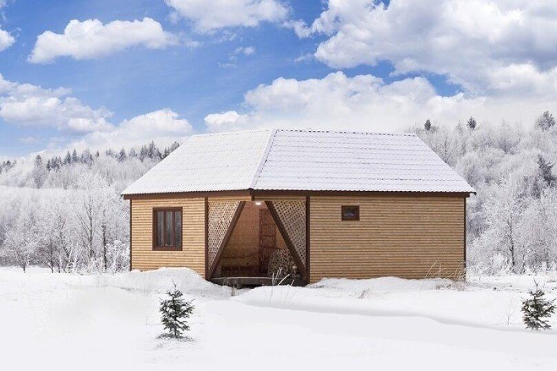Дом на берегу озера в Карелии, 65 кв.м. на 4 человека, 2 спальни, деревня Кукшегоры, 1, Олонец - Фотография 13