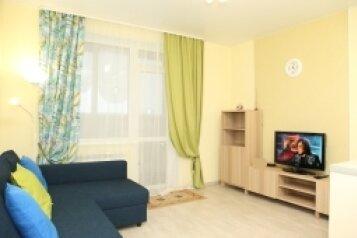 1-комн. квартира, 26 кв.м. на 2 человека, улица Костычева, Новосибирск - Фотография 1