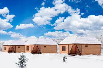 Дом на берегу озера в Карелии, 65 кв.м. на 4 человека, 2 спальни, деревня Кукшегоры, Олонец - Фотография 1