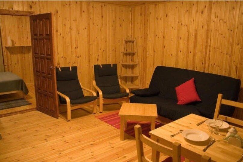 Дом на берегу озера в Карелии, 65 кв.м. на 4 человека, 2 спальни, деревня Кукшегоры, 1, Олонец - Фотография 16