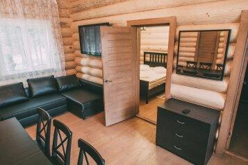 Коттедж №2 с сауной на 8 человек на базе отдыха, 60 кв.м. на 8 человек, 2 спальни, посёлок Шапки, Железнодорожный проезд, Тосно - Фотография 4