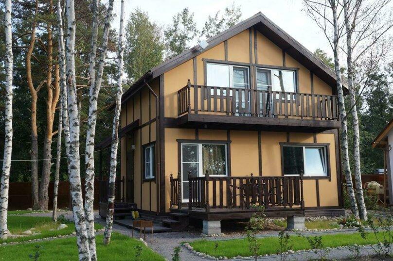 Дом с 2 спальнями , 84 кв.м. на 6 человек, 2 спальни, пос. Ларионово, ул. Озерная, 38, Приозерск - Фотография 2