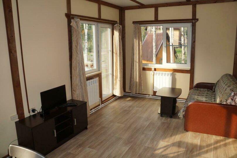 Дом с 2 спальнями , 84 кв.м. на 6 человек, 2 спальни, пос. Ларионово, ул. Озерная, 38, Приозерск - Фотография 7
