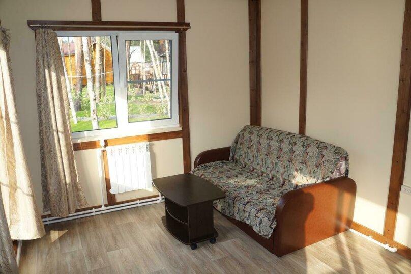 Дом с 2 спальнями , 84 кв.м. на 6 человек, 2 спальни, пос. Ларионово, ул. Озерная, 38, Приозерск - Фотография 8