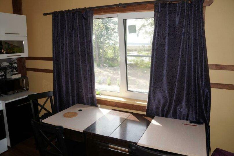 Дом для отпуска , 98 кв.м. на 6 человек, 2 спальни, пос. Ларионово, ул. Озерная, 38, Приозерск - Фотография 2