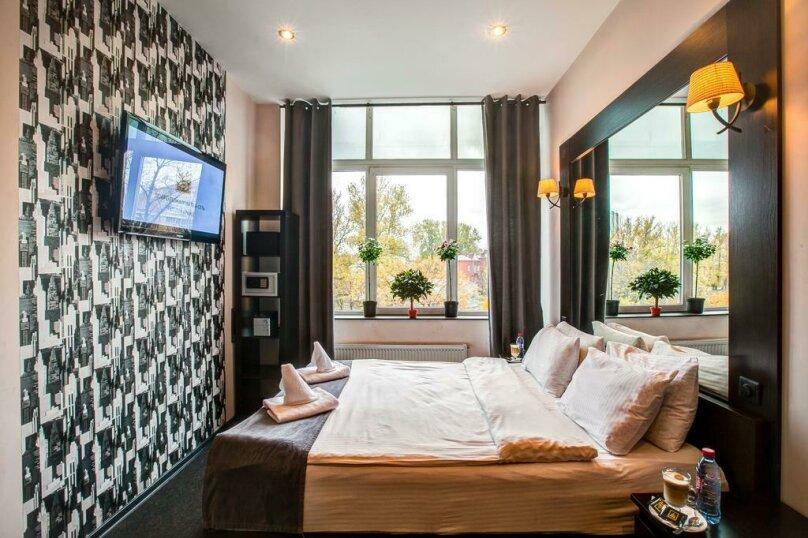Стандартный двухместный номер с 1 кроватью или 2 отдельными кроватями, набережная реки Карповки, 5П, Санкт-Петербург - Фотография 1