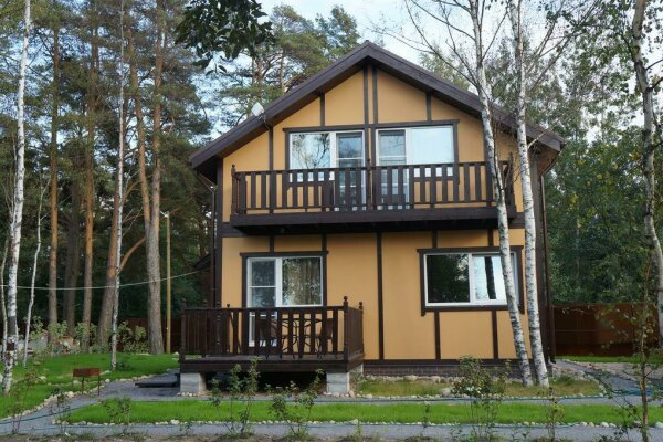 Дом с 2 спальнями , 84 кв.м. на 6 человек, 2 спальни