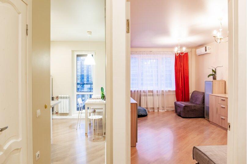1-комн. квартира, 37 кв.м. на 3 человека, улица Кораблестроителей, 29к1, Санкт-Петербург - Фотография 11