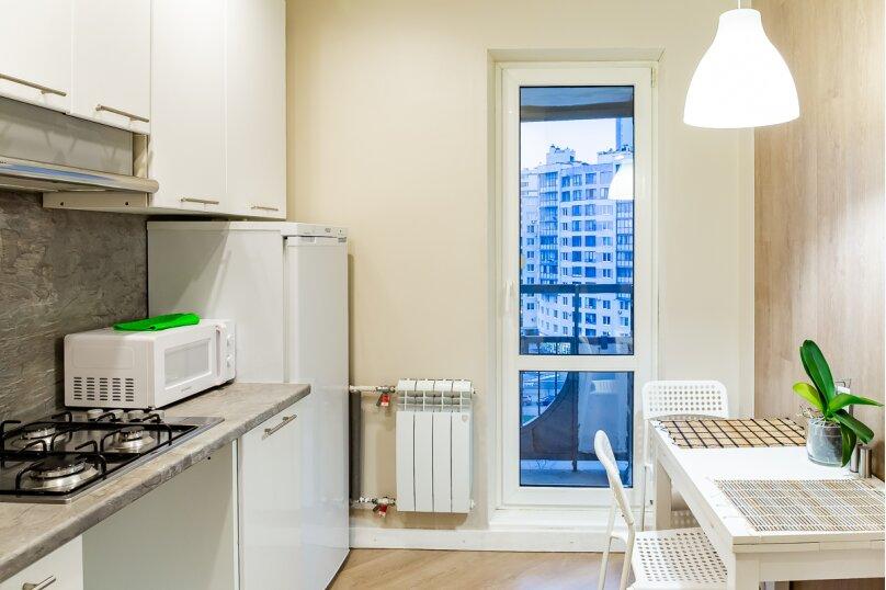 1-комн. квартира, 37 кв.м. на 3 человека, улица Кораблестроителей, 29к1, Санкт-Петербург - Фотография 12