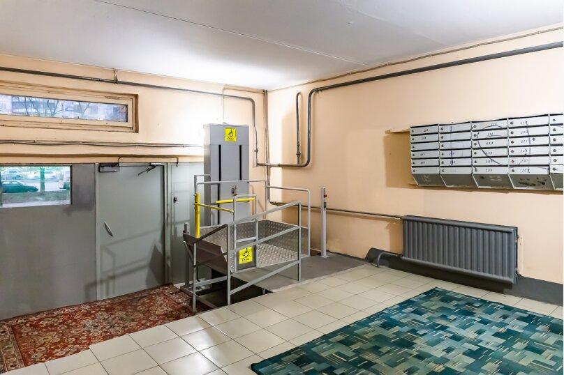 1-комн. квартира, 37 кв.м. на 3 человека, улица Кораблестроителей, 29к1, Санкт-Петербург - Фотография 23