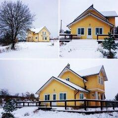 Дом с выделенной мангальной зоной, 140 кв.м. на 14 человек, 3 спальни, д. Рохма, ДНП Никольское, Санкт-Петербург - Фотография 1
