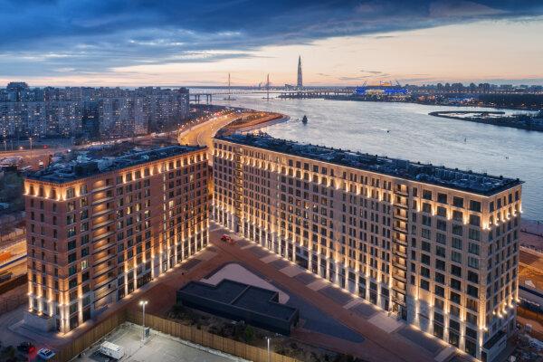 Апарт-отель, набережная Макарова, 60 на 60 номеров - Фотография 1