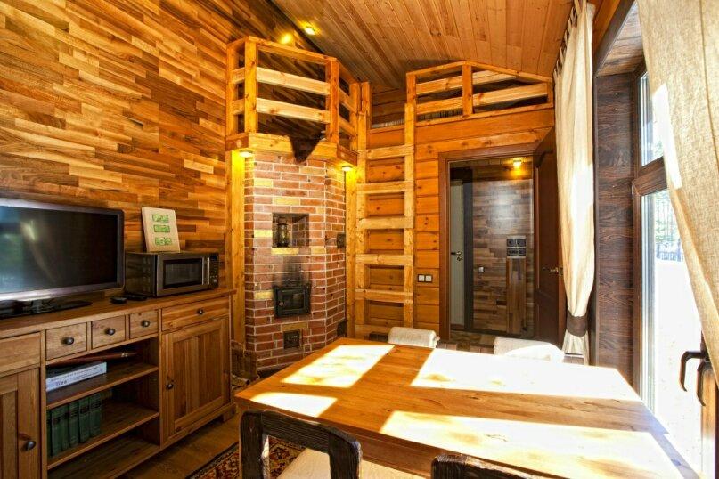 Дом № 3, 60 кв.м. на 5 человек, 2 спальни, деревня Сяндеба, 38, Олонец - Фотография 5