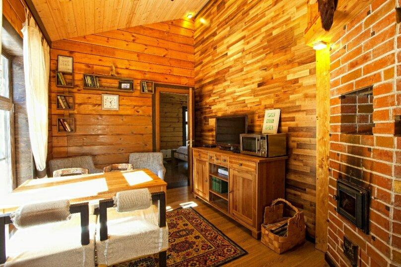Дом № 3, 60 кв.м. на 5 человек, 2 спальни, деревня Сяндеба, 38, Олонец - Фотография 7