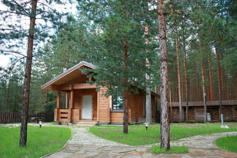 Дом № 3, 60 кв.м. на 5 человек, 2 спальни, деревня Сяндеба, 38, Олонец - Фотография 12