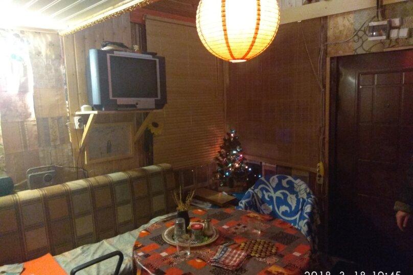 Коттедж в лесу с баней, 90 кв.м. на 15 человек, Рахья, Строителей, уч 4, Санкт-Петербург - Фотография 24
