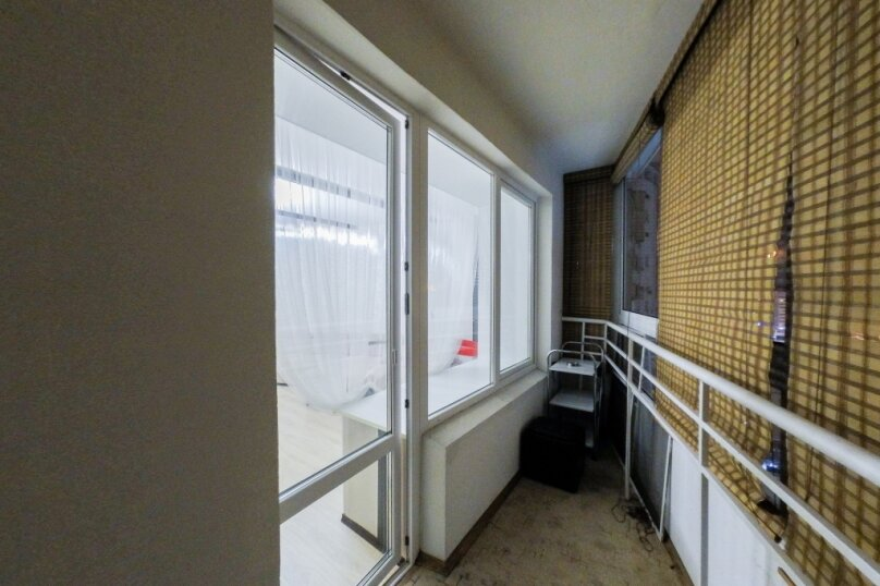 1-комн. квартира, 45 кв.м. на 4 человека, улица Щербакова, 35, Екатеринбург - Фотография 13