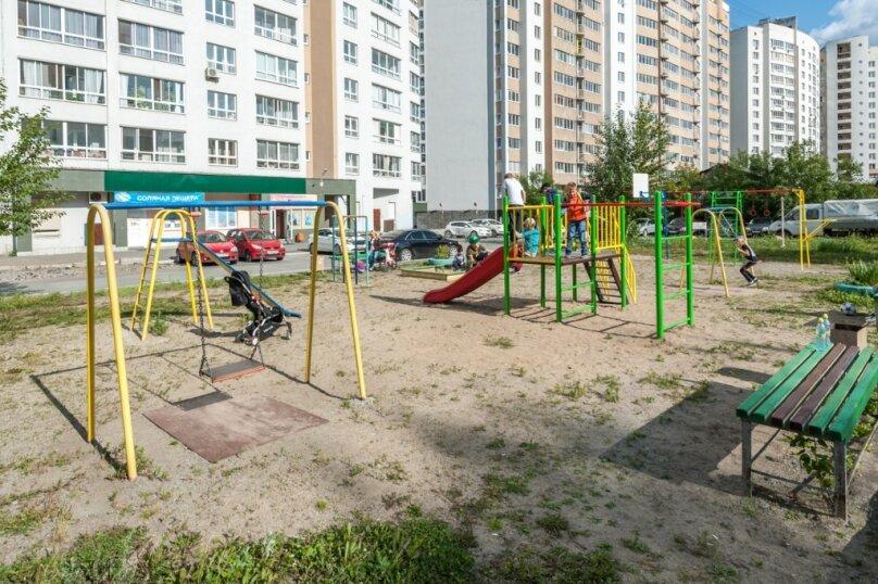 1-комн. квартира, 45 кв.м. на 4 человека, улица Щербакова, 35, Екатеринбург - Фотография 16