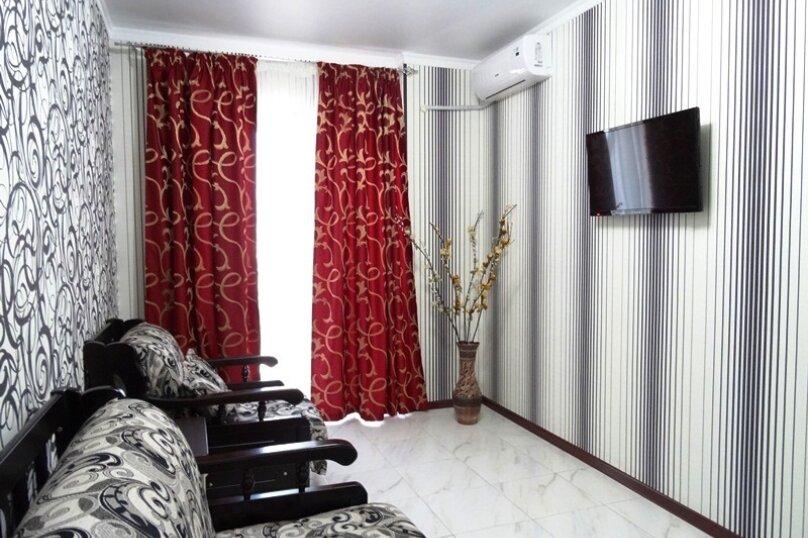 Люкс 2-х комнатный 5-ти местный с балконом, Александрийский проезд, 1, Витязево - Фотография 4